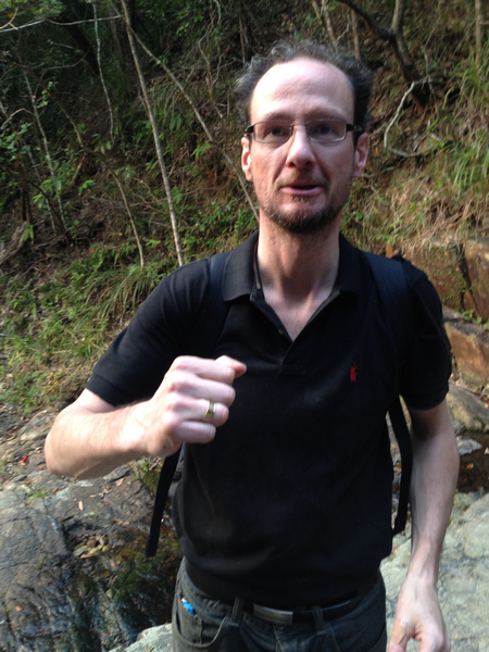 Ring lost on a Hong Kong trail
